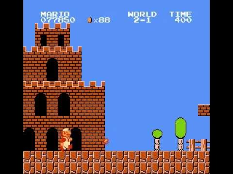 Super Mario Bros. Walkthrough World 2-1