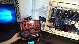 обзор Aerocool Kcas 1000w и тест в майнинге