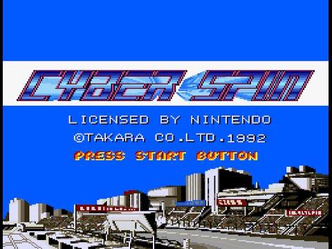 SNES Longplay [458] Cyber Spin