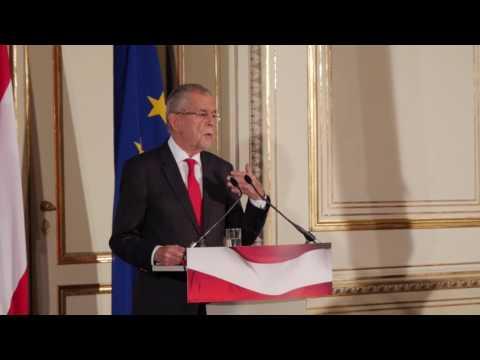 """Van der Bellen: """"Wir müssen über das Gesprächsklima im Land nachdenken"""""""