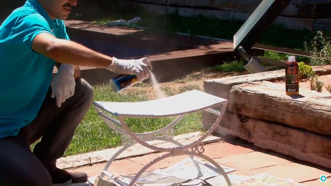Tutorial Como Restaurar Una Silla De Exterior Oxidada Y Que
