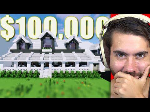 Selling A Huge Base For $100,000 In Minecraft (Ft. Alex Lange) | Trade Up E4