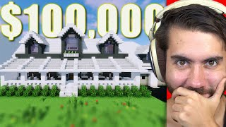 Selling A Huge Base For $100,000 In Minecraft (Ft. Alex Lange) | Trade Up E4
