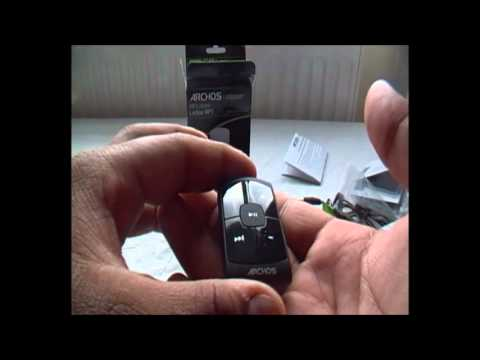 Archos Clipper 2GB MP3 Player Unboxing/First Look