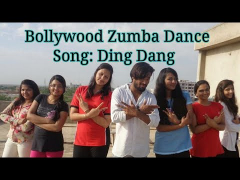 Ding Dang | Munna Michael | Zumba fitness workout | choreography by Suraj