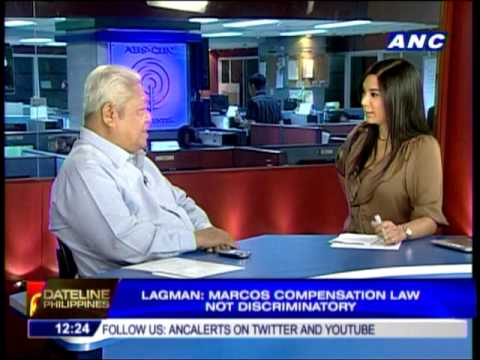Lagman: Bongbong misses point of compensation law