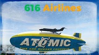 Gta 5 - Landing a Plane on the Blimp