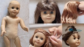 Fixing up an old AG Doll!