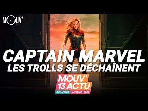 CAPTAIN MARVEL : les trolls se déchaînent Mp3