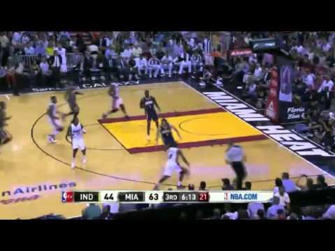 Indiana Pacers vs Miami Heat | Full Game Highlights | April 11, 2014 | NBA 2013-14 Season