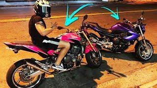 Фото с обложки Troquei Minha Xj6 Pela Hornet Do Donas46?