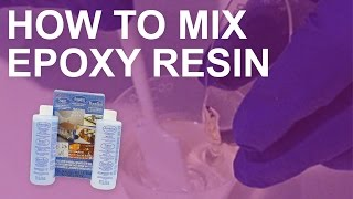 How to Mix Epoxy Resin for Resin Jewelry Making