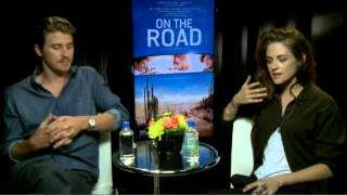 kristen stewart and garrett hedlund extended interview on the road tiff