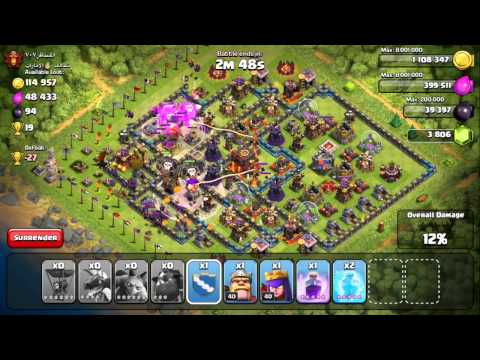 Clash of Clans - Quest to 4000 Trophies #6: Lavaloonion...?