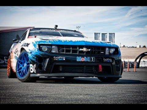 Formula Drift Chevy Camaro Ride Along at Sonoma Raceway