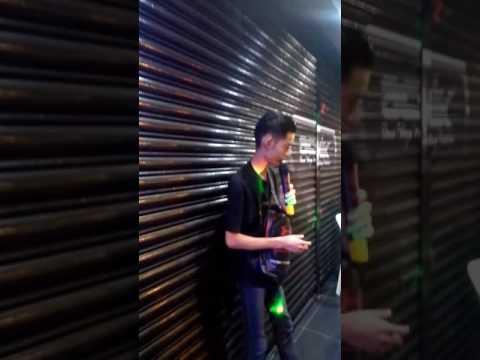 Karaoke kat Open House anjuran Achik Printing