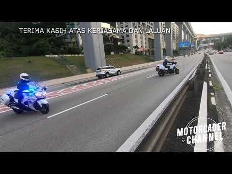 ESCORT POLICE OUTRIDER MOTORCADE TEAM