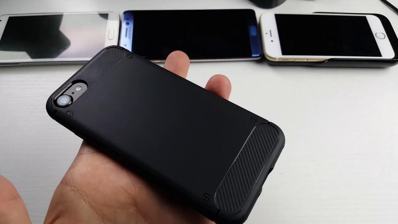 promo code e8782 00e05 iPhone 7 iXCC Black TPU Case Review | Anti Slip & Smudge Resistant