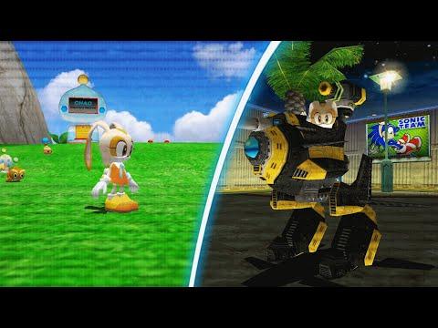 Cream The Rabbit In Sonic Adventure 2 (Mod Showcase)
