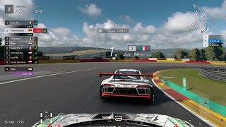 Gran Turismo™SPORT Daily Race 1129 Spa-Francorchamps Ferrari 458 Italia GT3 Onboard