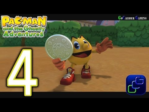 Pac-Man And The Ghostly Adventures Walkthrough - Part 4 - Pacopolis: Hedge Maze