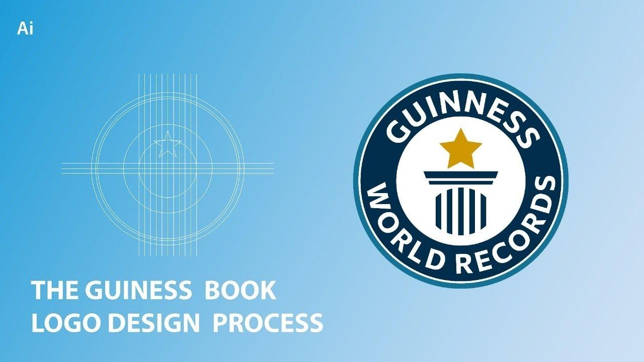 The Guinness Record Book Logo Design Process | Adobe Illustrator Tutorials