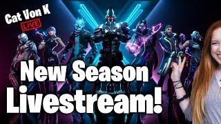 Fortnite Season X LIVESTREAM! | Cat Von K PRO PLAYER