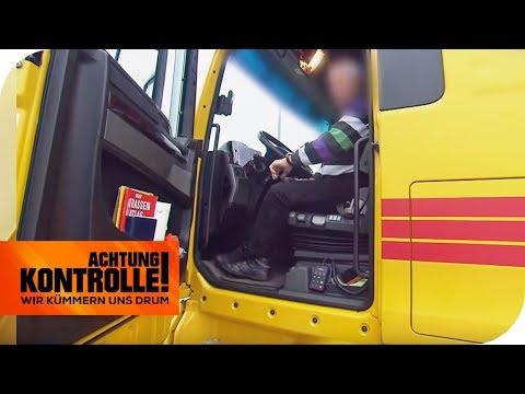 Sonntags Fahren verboten! Halten sich alle LKW daran? | TEIL 1/2 | Achtung Kontrolle | kabel eins