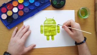 How to draw the android logo