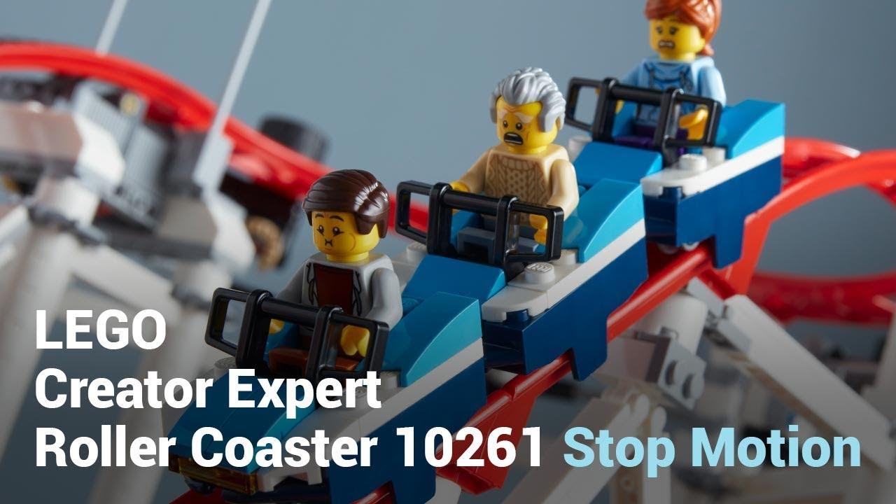 Annonce du nouveau LEGO Creator Expert 10261 Roller Coaster