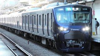 【祝】【響くvvvf!】JR東海道支線(品鶴線)E233系(三菱IGBT),相模鉄道12000系(三菱IGBT)西大井にて