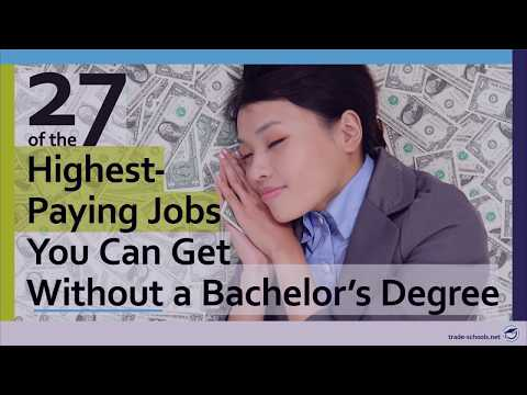 Highest Paying Jobs without a 4 year degree – 2018 Edition