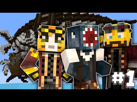 Minecraft - TIME TRAVELLERS! - Grandfather's Island! #1 W/Stamps & Ash!