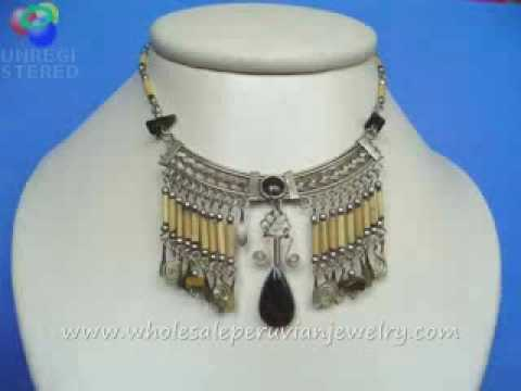 Bamboo Jewelry Peru Silver Alpaca - FREE Jewelry Samples!