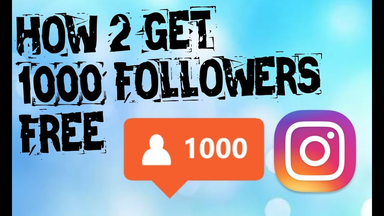 1000 free followers on instagram without human verification