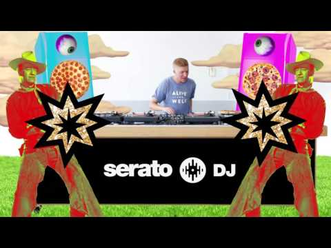 Serato x Mad Decent x Thump with Four Color Zack