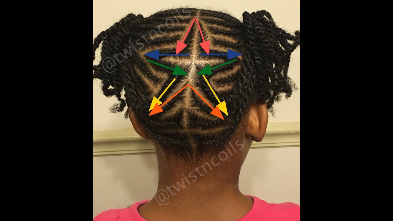 TnC - 39 ♡ How to do a Star Shape Braid Design - Fun ...