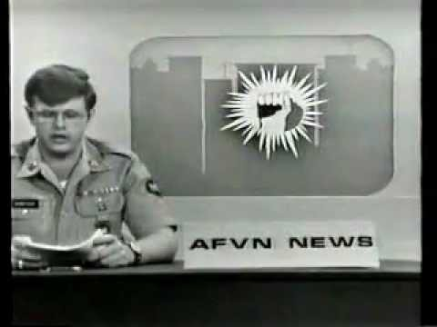 AFVN TV News Saigon 3 Feb 1973 SP4 Robert Morecook and Sports by SP5 Jerry Elliott