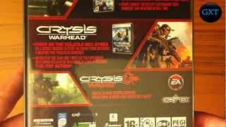Crysis Maximum Edition Crysis+Warhead+Wars 2009 Video Game Unboxing-Overview HD 720P