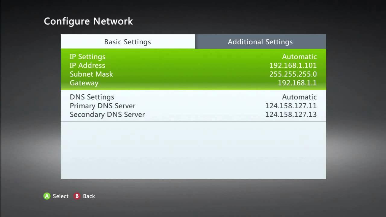 xbox 360 network configuration youtube rh youtube com Xbox 360 PC Setup Xbox 360 PC Setup