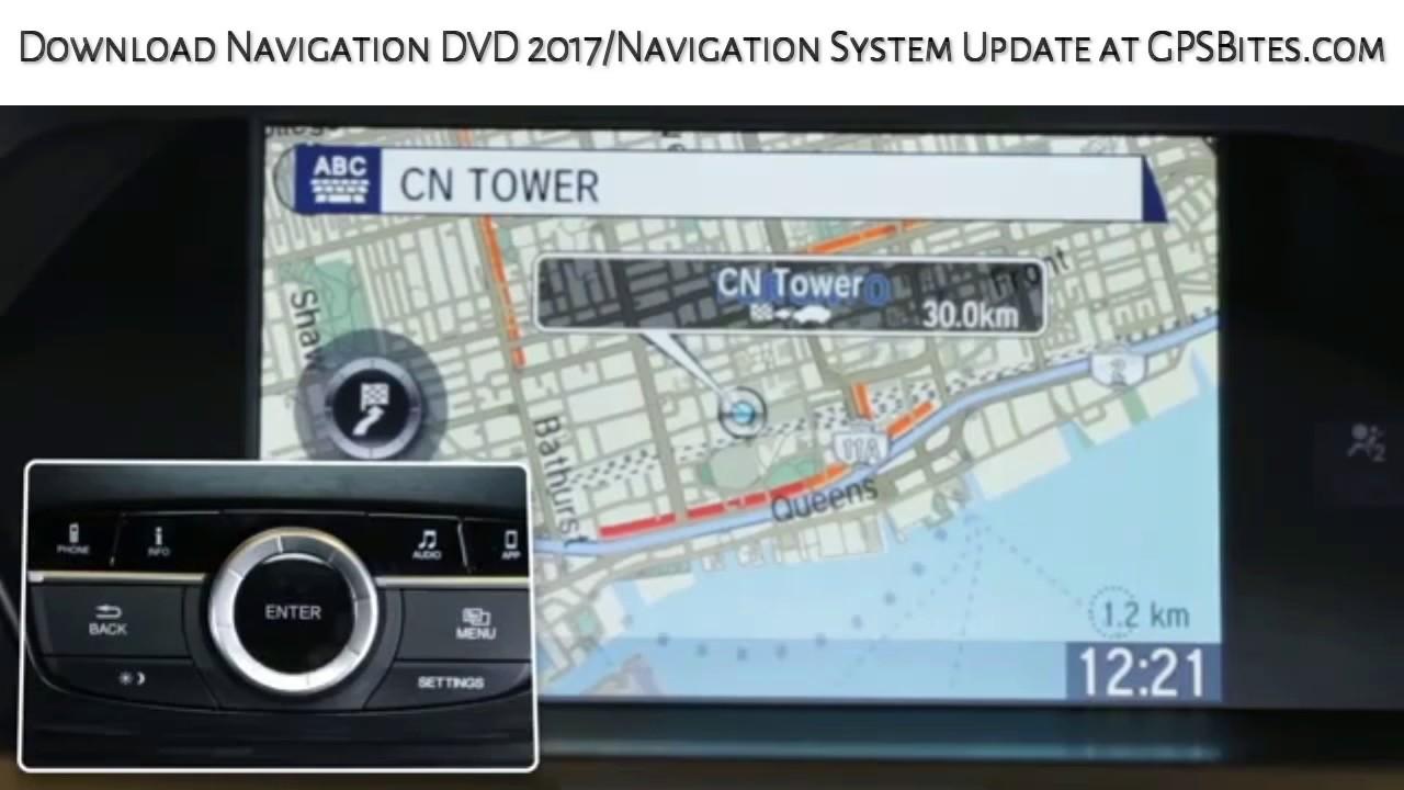 AcuraLink Navigation Basic - YouTube