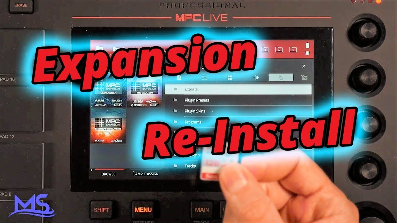 Mpc Live - Install Expansions with MPC Software (Factory Content)
