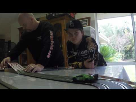 Carrera slot car racing – track build – August 2017