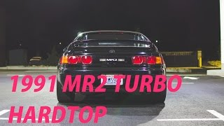 Walk Around Owner's Review: 1991 MR2 Turbo Hardtop