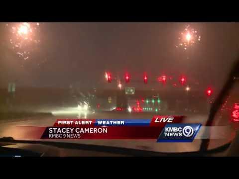 Tornado sirens accidentally sound as storms push through Kansas City