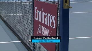 2018 Nitto ATP Finals: Live Stream Practice Court 2