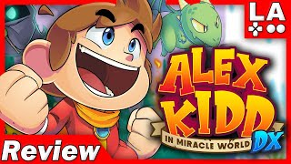 Alex Kidd in Miracle World DX REVIEW (Video Game Video Review)