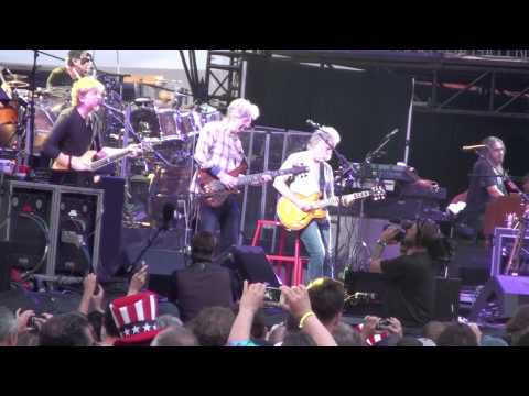 Grateful Dead July 4, 2015 Set One -  Fare Thee Well from the PIT Tripod
