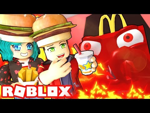 We Must ESCAPE Roblox McDonalds Or Else!