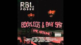 RBL Posse - Ruthless By Law ft. Master P, Dre Dog, Madman & Cougnut 1994 Rare Bay Area Cali Frisco